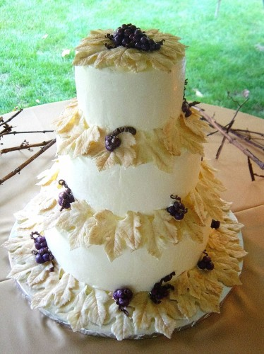 Curci Kramer Wedding Cake